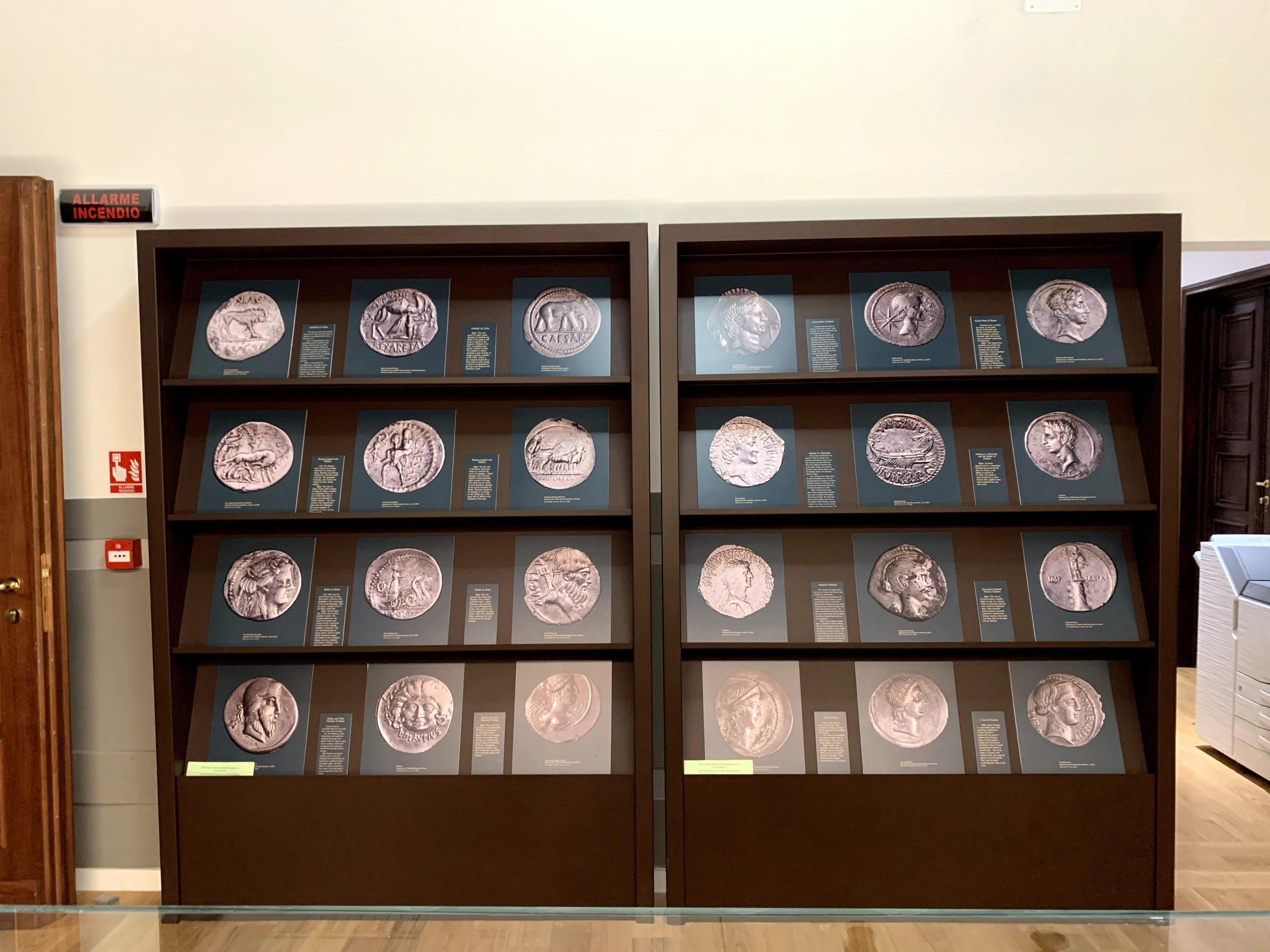 Coin wall