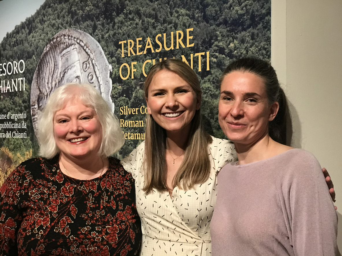 Dr. Katherine Brown and Jessica Rassau joined Nóra Marosi